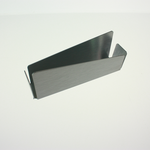Aluminum Business Card Holder - Modern Angle Style ($2.99 retail, $1.00 cost x 20 per case)