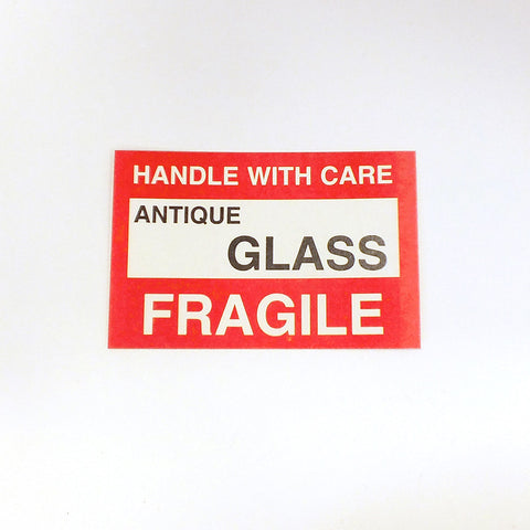 Fragile Self Adhesize Label (Pack of 50)