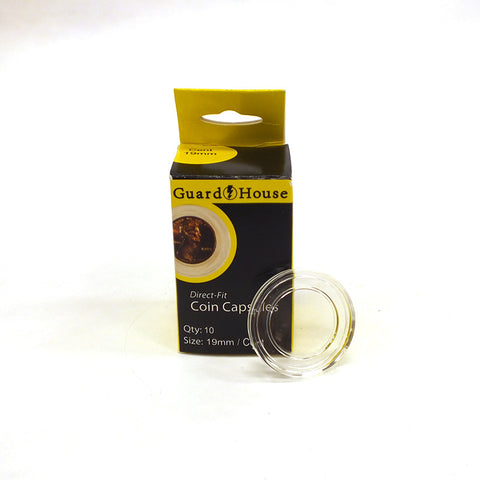 Guardhouse Direct Fit Coin Capsules (7 Sizes)