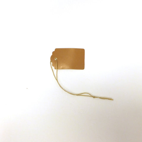 Antique Gold Tag (Box of 100) 2 Sizes