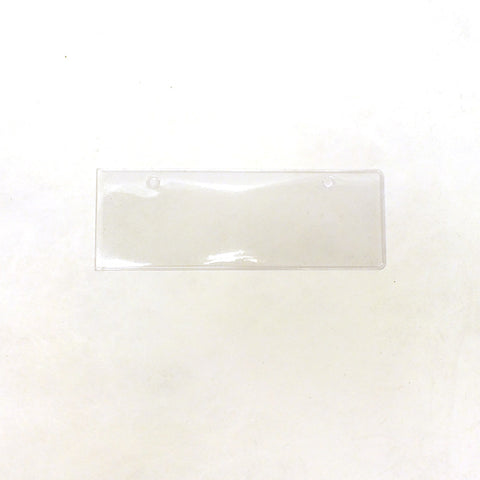 "5"" Clear Vinyl UPC Tag Holder"