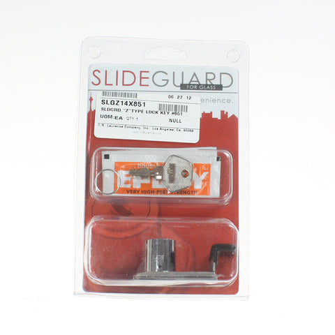 "Slideguard ""Z"" Type Lock"