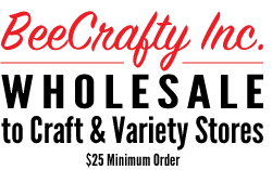 Bee Crafty Inc., Wholesale to Craft and Variety Resellers.
