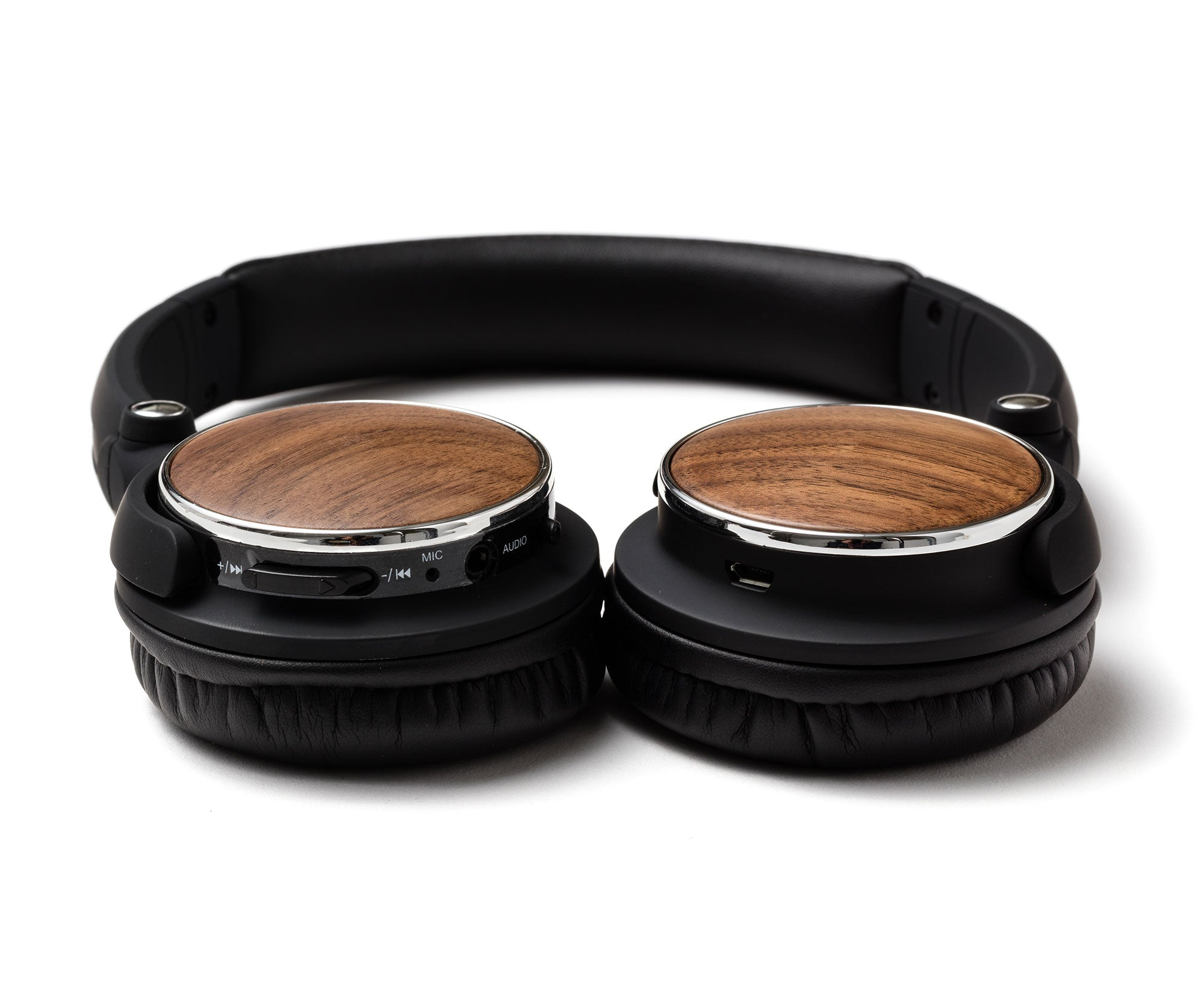 Wireless Wood Headphones