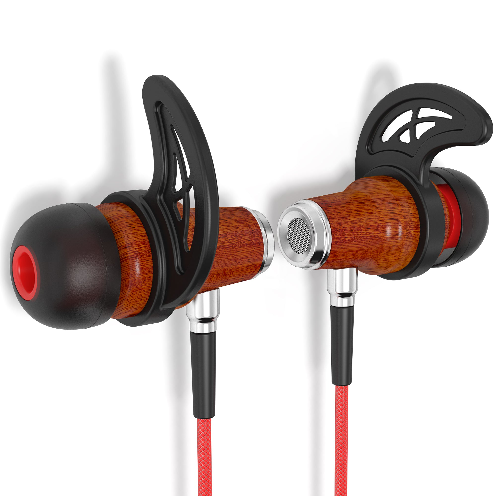 Cherry Wood Headphones