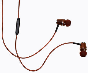 XTC 2.0 In-Ear Wood Headphones - Bronze
