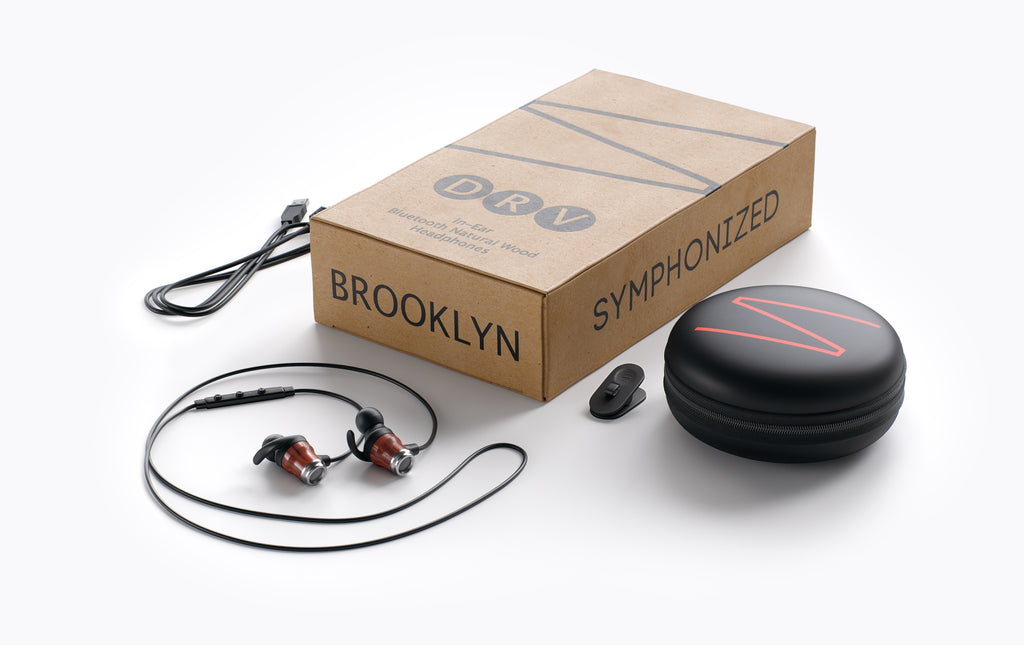 Symphonized DRV Bluetooth Earbuds with Angle-Fit Ear Tips