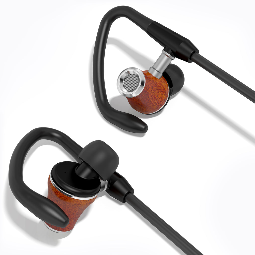 Symphonized NRG Sport Bluetooth Earbuds with Angle-Fit Ear Tips