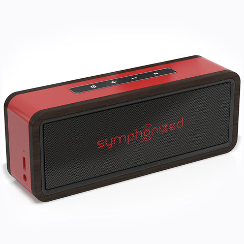 NXT 2.0 Wireless Bluetooth Portable Speaker - Red