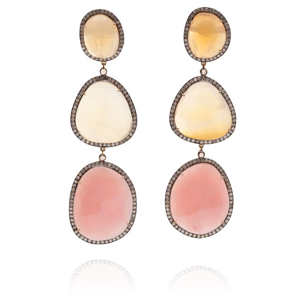 Humphrey-Bass Affair Earrings - Lauren Craft Collection - 1