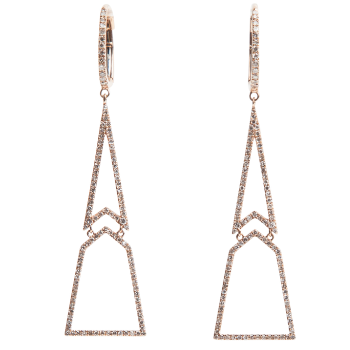 Geometric Earrings - Lauren Craft Collection