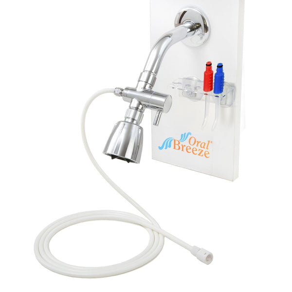 Combo ShowerBreeze/QuickBreeze  Water Jet Dental Irrigators  - 15 seconds a day-