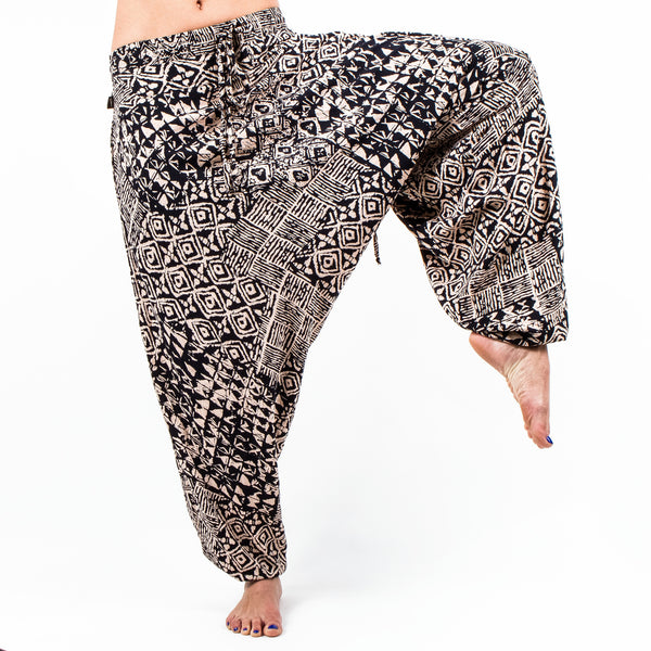 Buddha Pants Savannah Tribal Beige