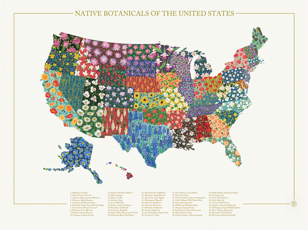 Native Botanicals of the United States
