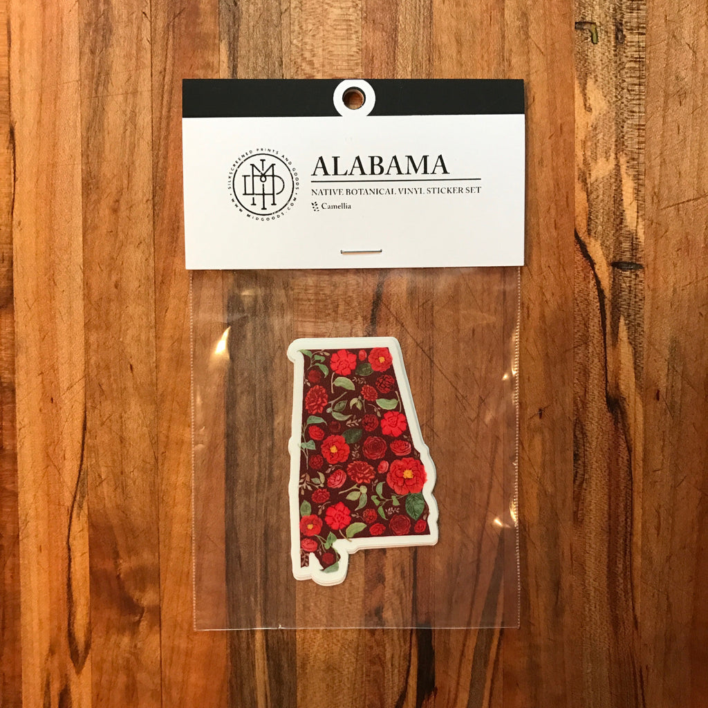 Alabama Sticker Set of 3