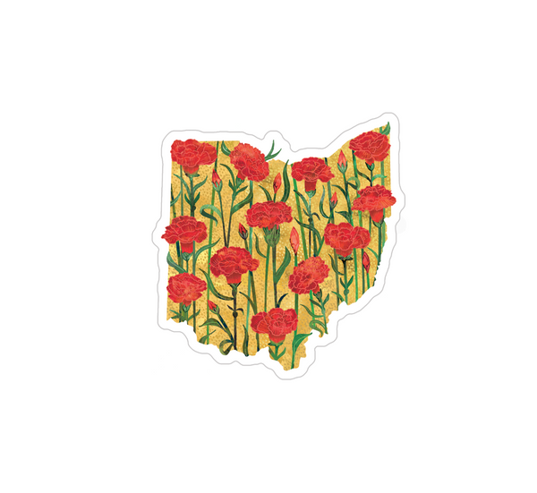 Ohio Sticker Set of 3