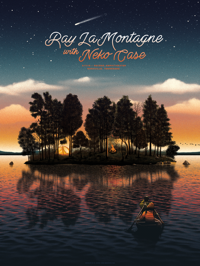Ray LaMontagne, Nashville, TN June 17, 2018