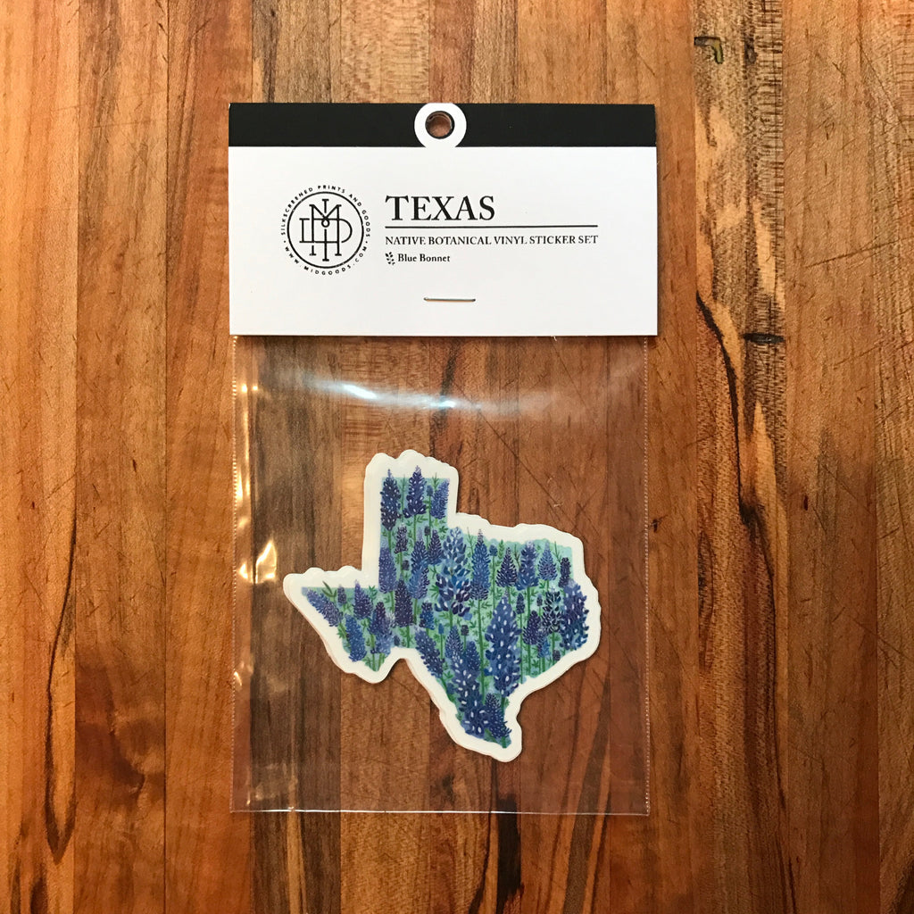 Texas Sticker Set of 3