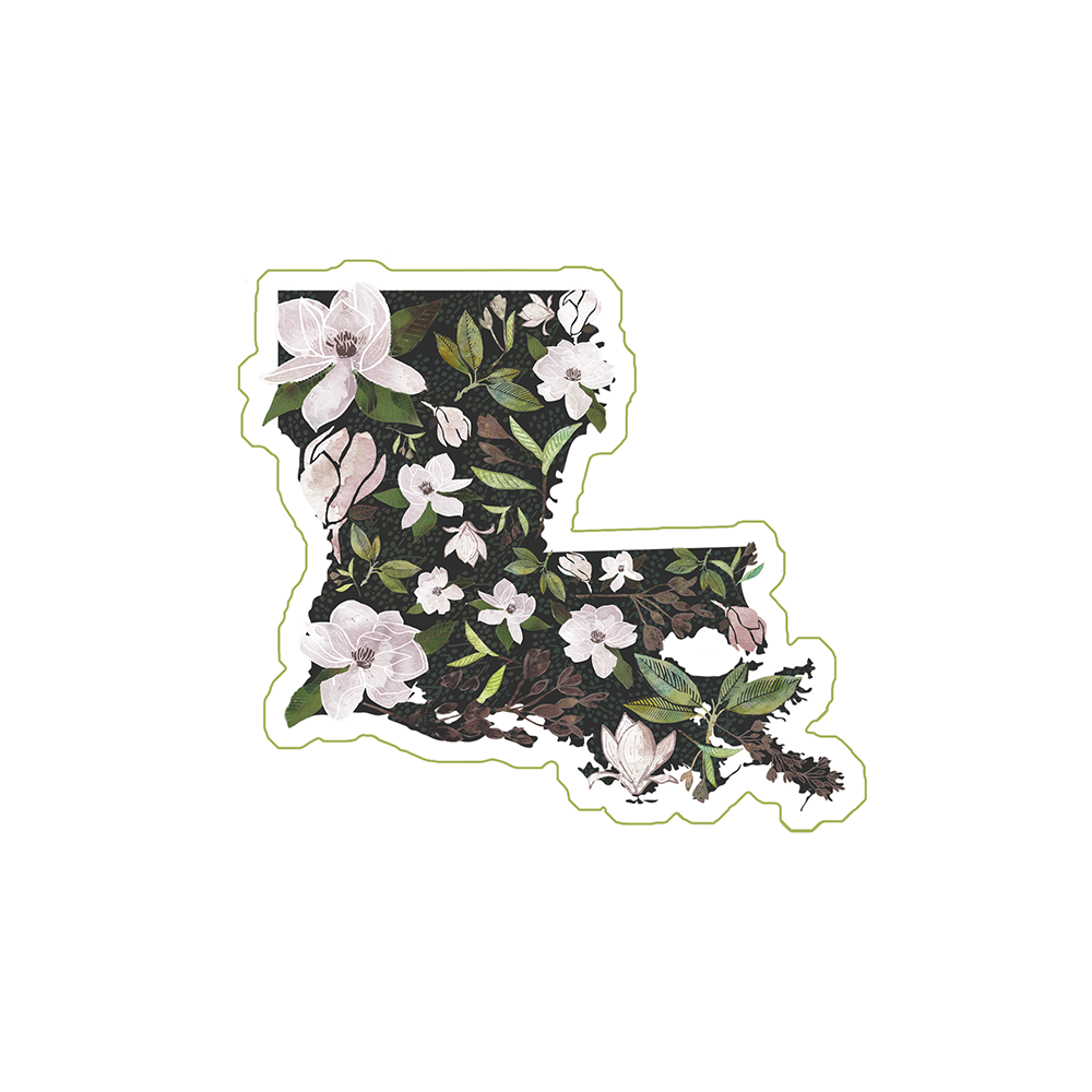 Louisiana Sticker Set of 3