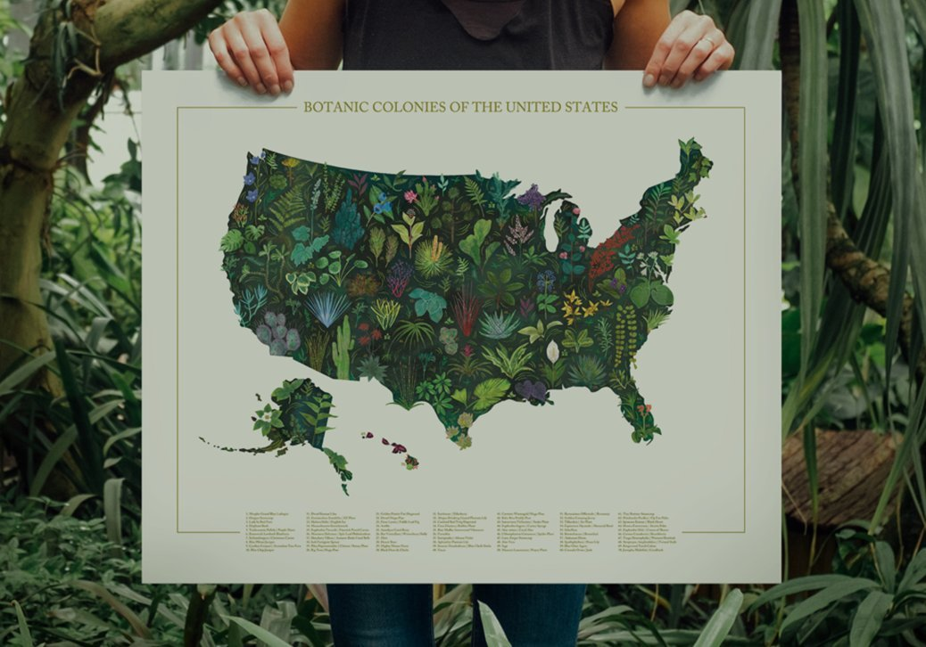 BOTANIC COLONIES OF THE U.S.