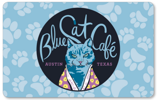 Blue Cat Cafe Gift Card
