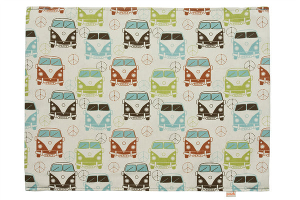 Kitty Lounger Mini Cover - Love Bus