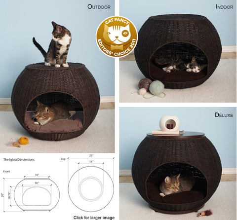 The Igloo Cat Bed