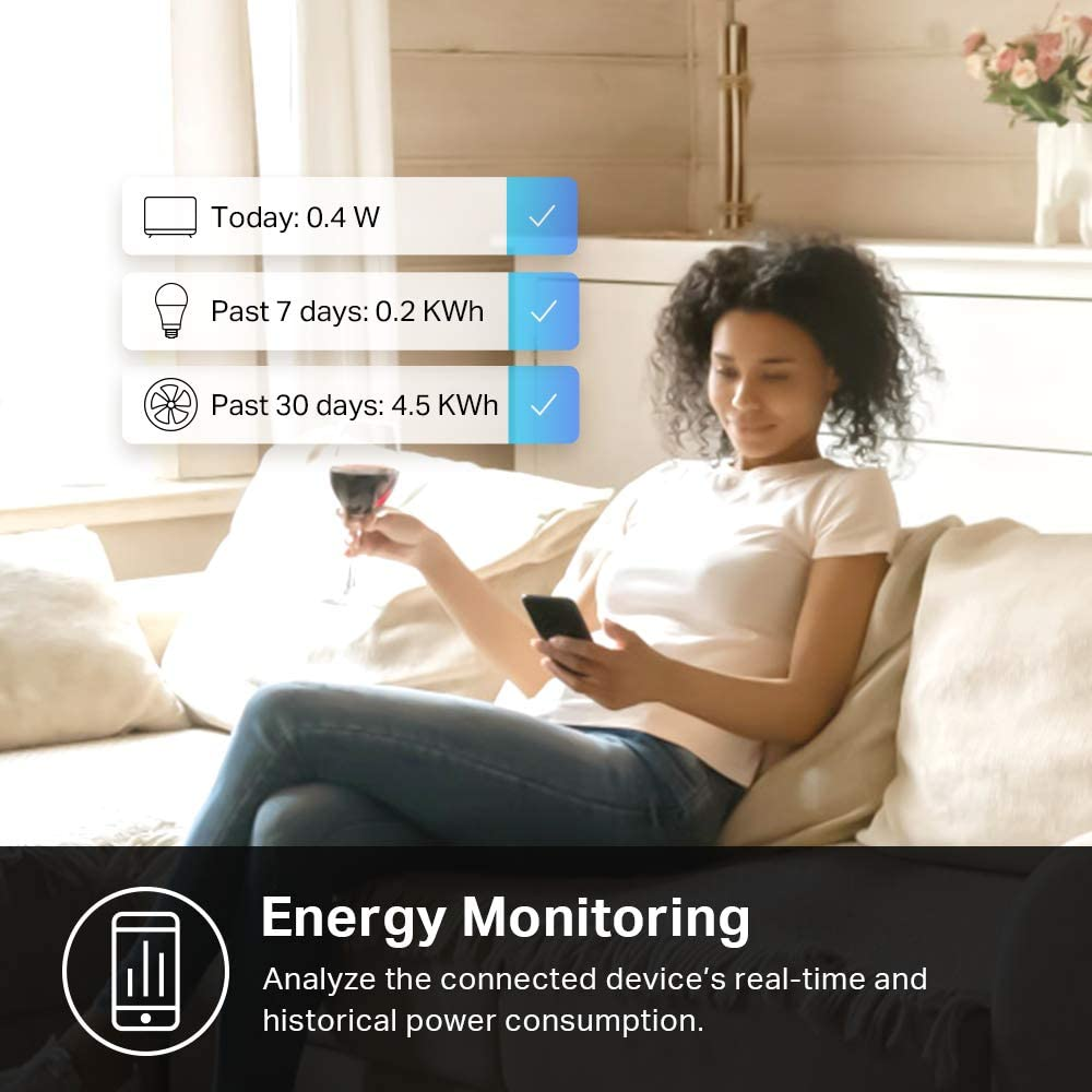 TP-Link KP115 Smart Plug Mini with Energy Monitoring