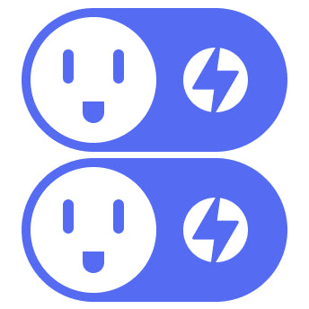 OhmPlug Smart Plug with Energy Monitoring Bundle X2