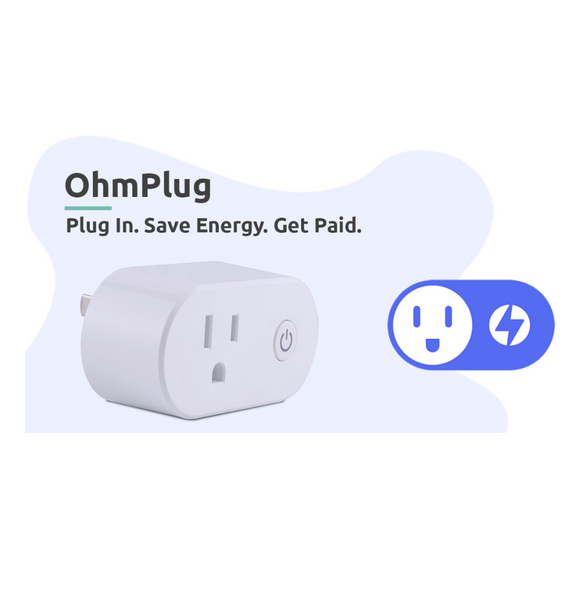 OhmPlug Smart Plug with Energy Monitoring
