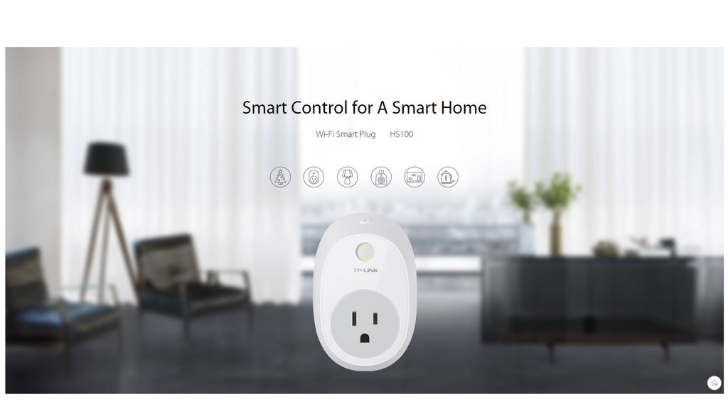 TP-LINK Smart Plug with Energy Monitoring HS-110