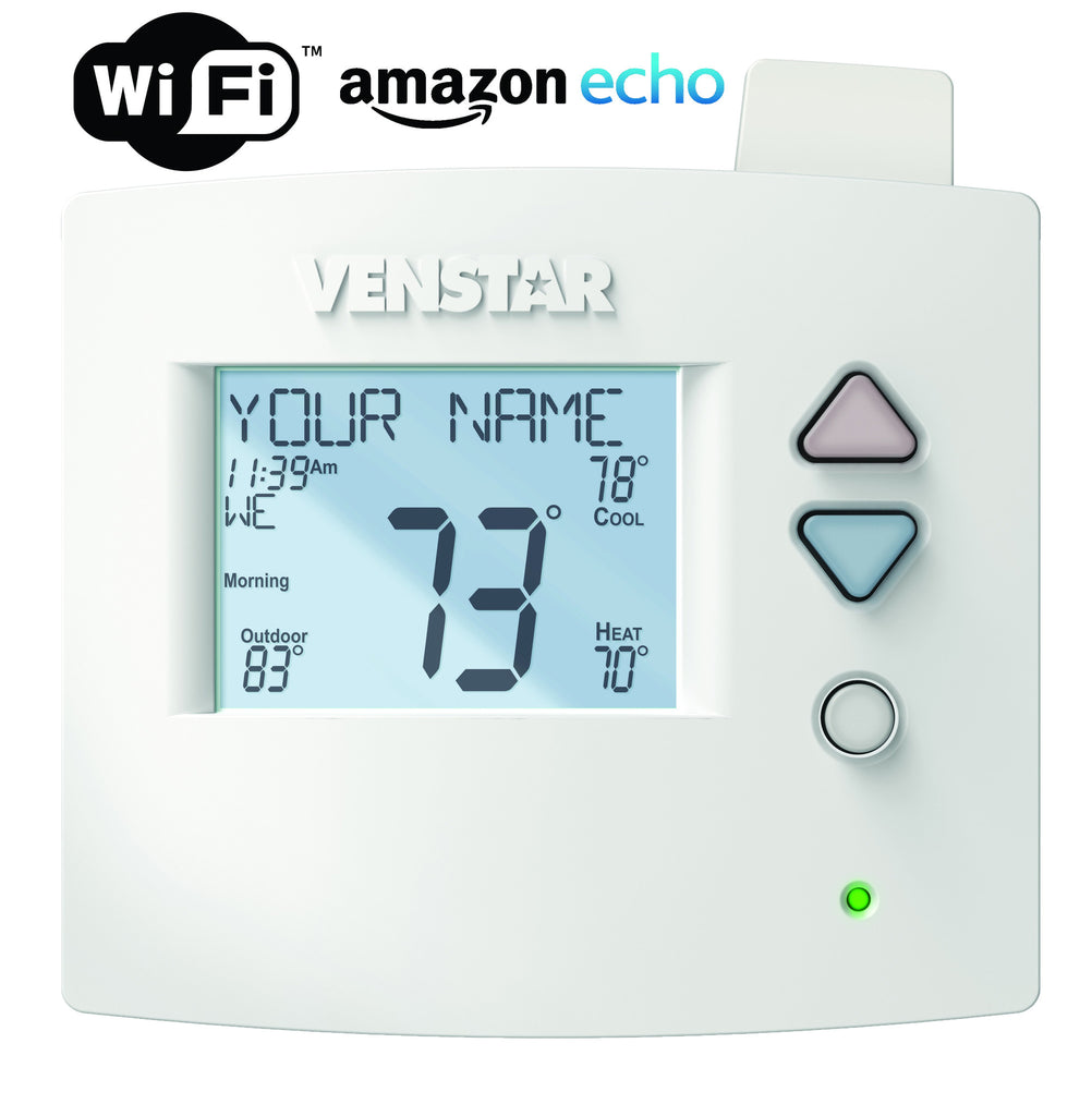 Venstar Voyager T3700 Thermostat + Wi-Fi Module