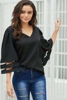 Lena Flare Sleeve Top