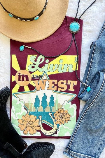 S - Livin' In The West Tee
