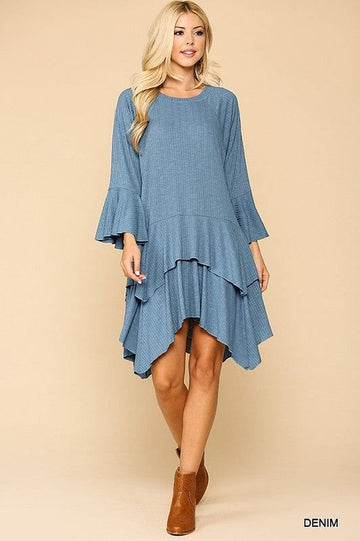 Flutterby Bell Sleeve Dress