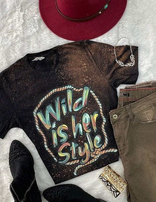 Wild Child Distressed Tee