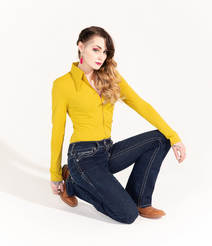Mustard Solid (Yellow)