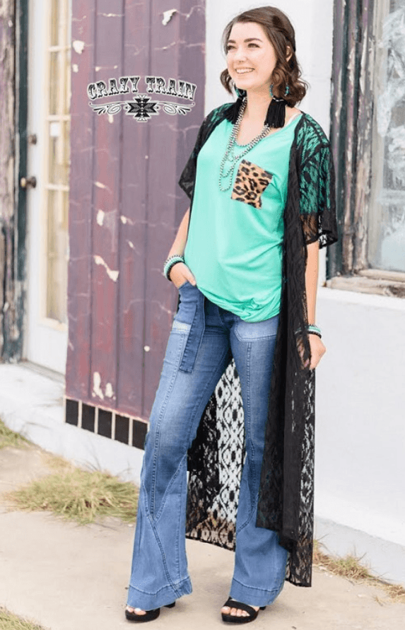 Albuquerque Lace Duster (MULTIPLE COLORS)