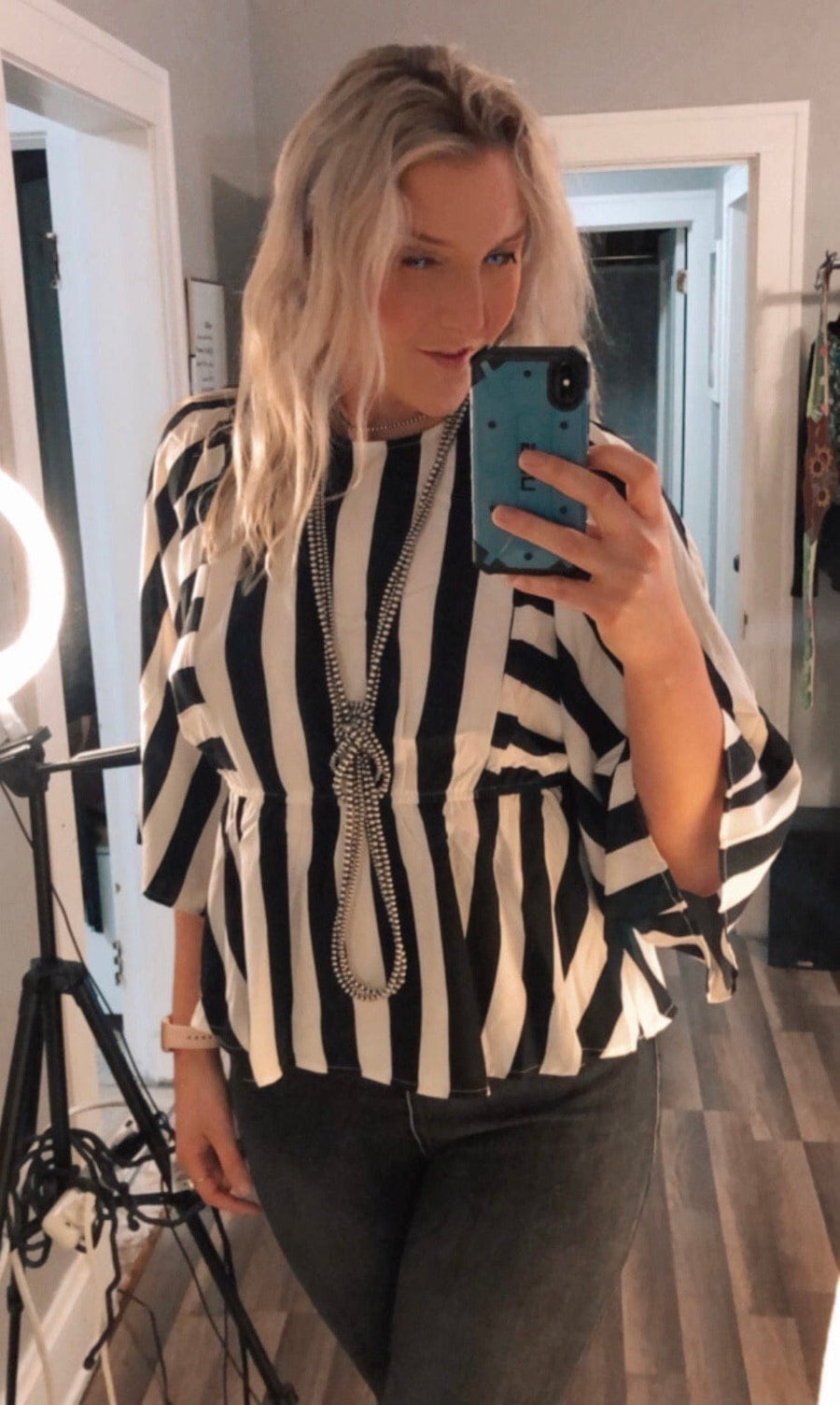 Stagecoach Striped Blouse