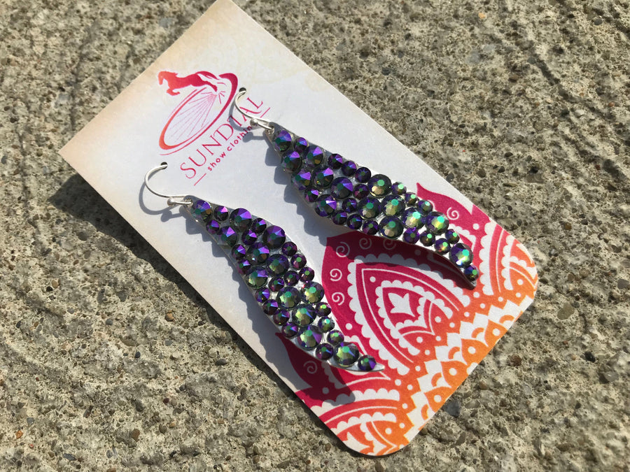 Linux Twist Earrings