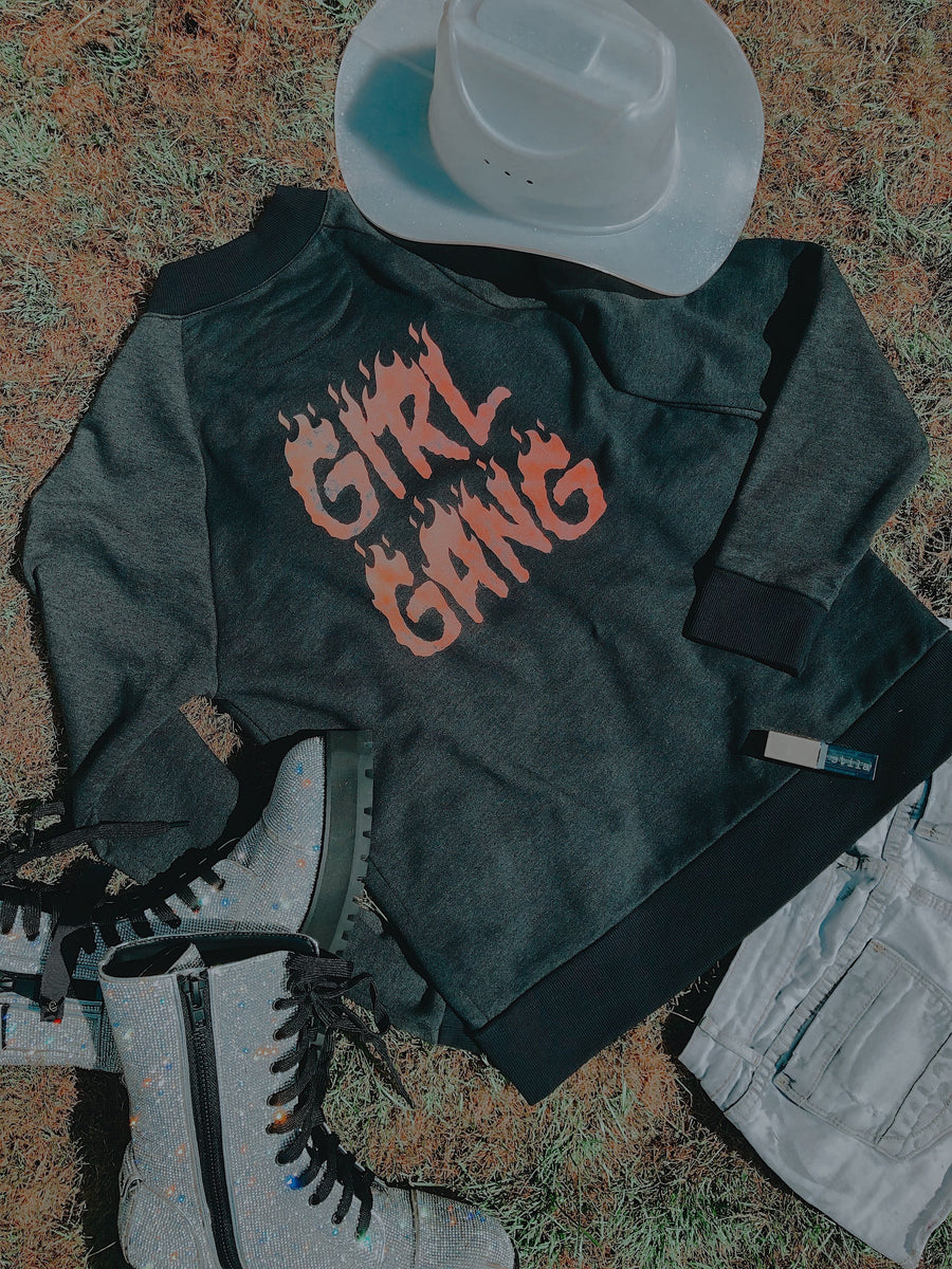 Girl Gang Bomber Jacket