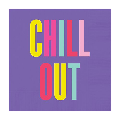 Cocktail Napkin - Chill Out