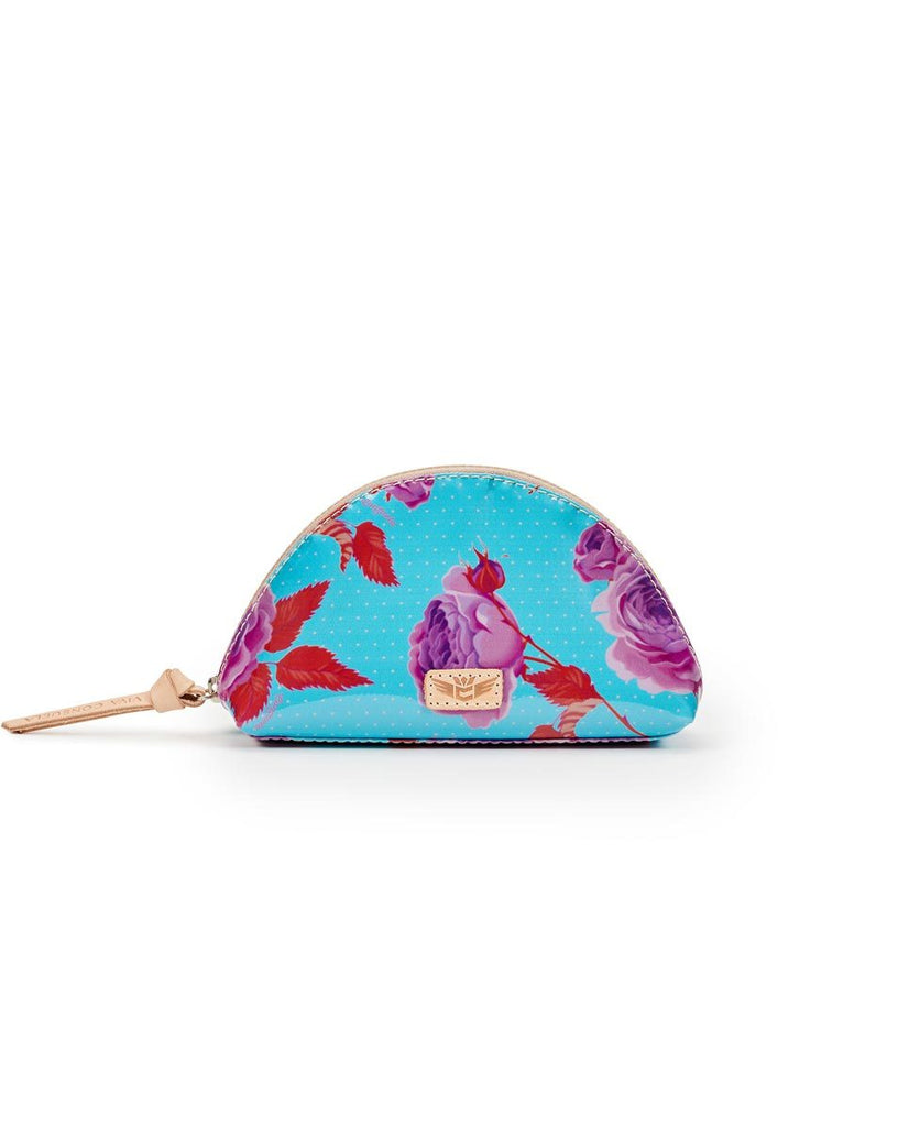 Consuela Medium Cosmetic Bag- Mimi Flower Power