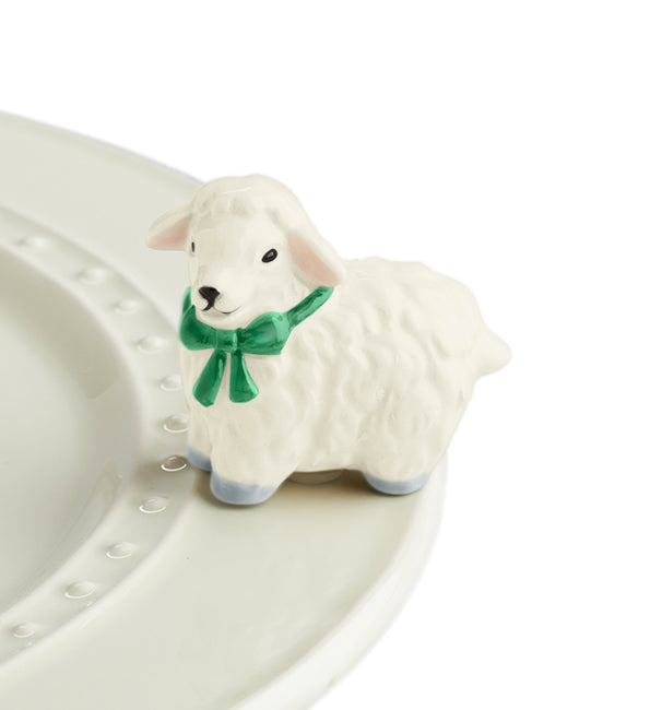 Nora Fleming Mini - I Love Ewe!