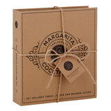 Cardboard Book Margarita Set