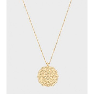 Gorjana Mosiac Coin Necklace