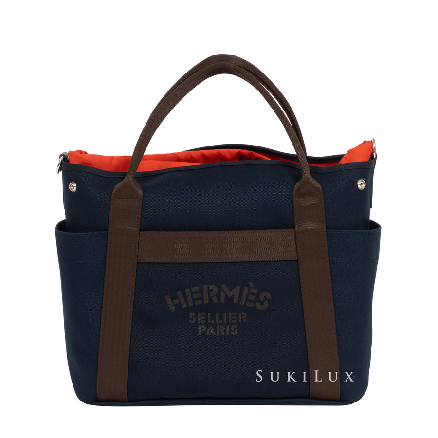 Hermès Groom boot and helmet bag