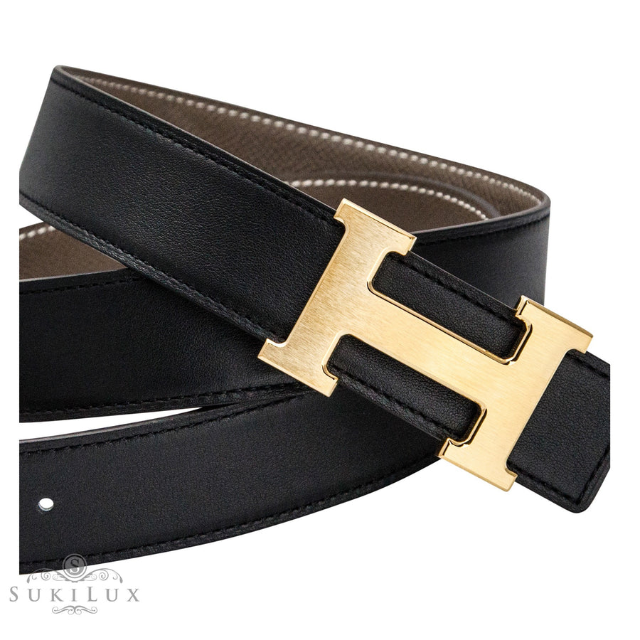 Hermès 32mm Reversible Constance H Belt Carre Gold Buckle
