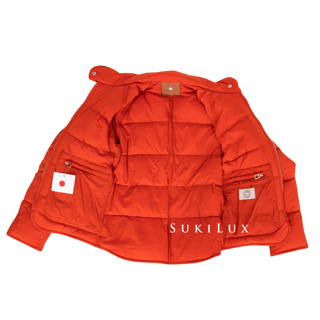 Hermes womens puffy down jacket
