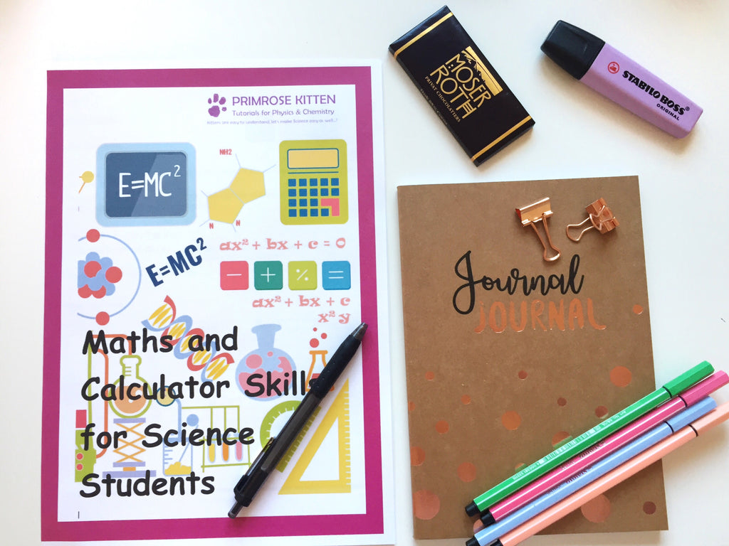 Maths and Calculator Skills for Science Students